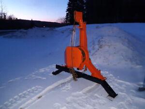 Farmi logging winch