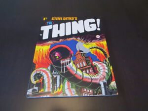 Steve Ditko's The Thing and other stories - paperback book
