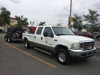 2002 Ford F-350 cuir Fourgonnette, fourgon