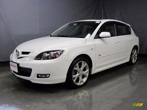 2008 Mazda Mazda3 Sport GT Hatchback ONLY 40,000 KM'S !!!!