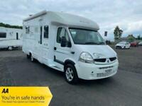 2008 Renault Master Pilote 715 fc Motorhome Auto NA Diesel Automatic