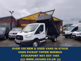 2017 66 FORD TRANSIT CUSTOM T350 125 BHP TIPPER TRANSIT 2017 IN THE YEAR ONLY 13