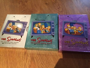 The Simpsons series 1-2-3