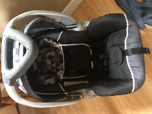 Clic it stroller and baby trend car seat