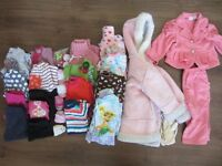 Girl's clothes 12-18 months