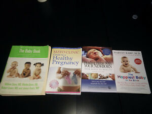 Books for expectant mothers (baby book, mayo clinic pregnancy)
