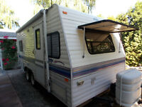 terry travel trailer 19N