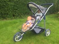 Mamas and Papas Toy pram double buggy