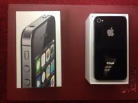 Apple iPhone4s- (csmartphone) unlocked to all network with original box, looks new.