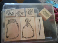 """Stampin Up set """"All Wrapped Up"""""""