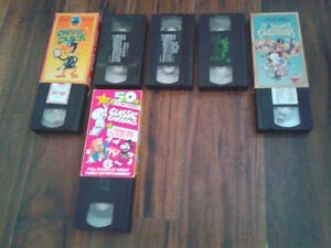VHS MOVIES- $10 for all 21