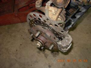 Disques brake conversion Kodiak,Big Bear 91-99 avec Hi/Low