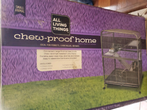 Small animal cage: All living things chew proof home