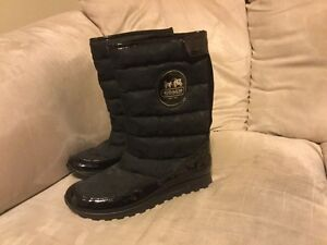 Coach boots, size 8 1/2, brand new.