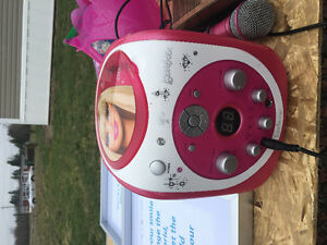 Barbie karaoke machine