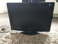 """Logik 22"""" LED Back lit LCD HD TV with built in DVD Player"""