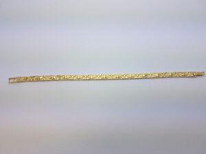 Bracelet Nugget en or 10 karat neuf italien