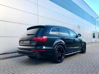 2009 59 Audi Q7 3.0TDI quattro S Line Black + PAN ROOF + REAR ENTERTAINMENT