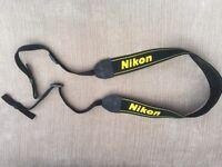 Nikon camera strap as new