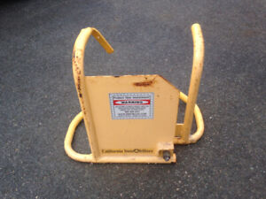 Heavy Duty Steel Wheel Lock (Three for the price of One)