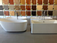 BATHTUBS - SHOWERS- FAUCETS- TOILETS -VANITY ON SALE!