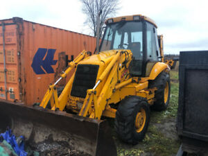 1998 JCB 214 Series III backhoe for rent $2,500/month