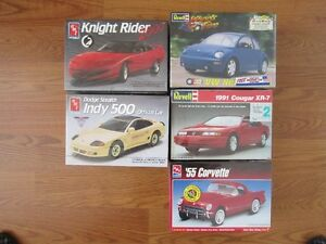 Plastic Model Cars New Assorted