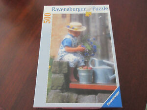Ravensburger 500 piece puzzle -  Country girl  Very pretty!