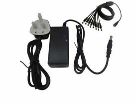 buy BULK CCTV DVR POWER SUPPLY FOR 4 CAMERAS 5000MA(5AMP) 12V DC POWER SUPPLY WITH 4 WAY SPIDER LEAD
