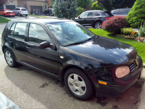 2000 VW Golf  for sale or parts