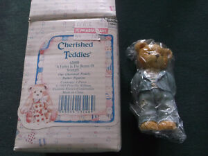 "GIFT FOR DAD: NEW Cherished Teddy Bear ""DAD"""
