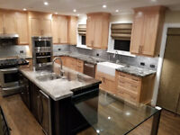 Polished Concrete Countertops and Tables