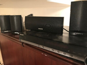 Sony Surround Sound TV speakers + Subwoofer