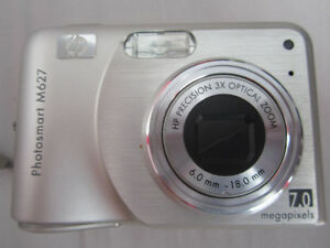 HP Photosmart M627 (7,0 Megapixel) Used Digital Camera