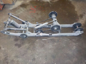 SKIDOO 800R 2007 REAR SKID 151'',  NEEDS SLIDERS, USED