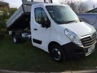 bf9dfb1ea6 2018 Vauxhall Movano 2.3 CDTI BiTurbo H1 C2G Tipper 130ps Diesel white  Manual