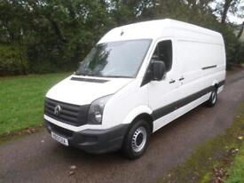 Volkswagen Crafter 2.0 TDi 109PS CR35 LWB 13 REG 86K ONE COMPANY OWNER