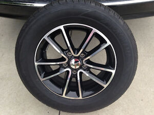 BRAND NEW RIMS AND TIRES OFF 2016 DODGE CARAVAN.MUST GO!