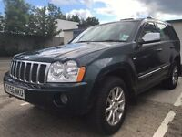 2007 JEEP GRAND CHEROKEE OVERLAND 3.0 CRD 4x4 AUTOMATIC FULLY LOADED PX swap
