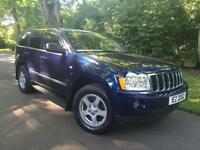 2007 Jeep Grand Cherokee 3.0CRD AUTO Limited,ONE OWNER,GREY LEATHER,ELEC SUNROOF