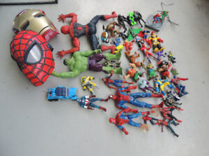 miscellaneous old toy lot