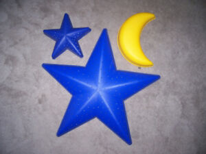 Wall Lamps - Stars and Moon