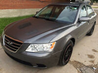 2009 Hyundai Sonata, Heated seats, Auto, Black wheels, Safetied