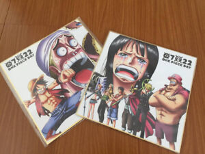 One Piece illustration boards from JAPAN!