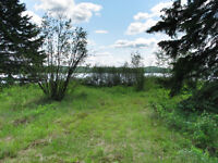 Flat Southern Facing Waterfront Lot on Sand Lake
