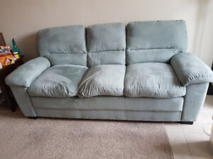 Light green, 3 seater couch