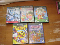 GAME CUBE GAMES $5.00 EACH
