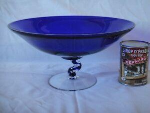 Vase de style Murano bleu(baisse de prix 25,00) Saguenay Saguenay-Lac-Saint-Jean image 2