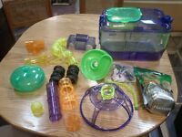 Hampset Cage and Accessories