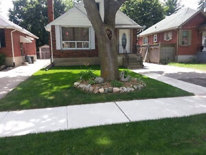 House for rent 2+1 bed, fenced backyard, renovated.